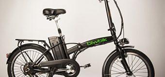 Bici elettrica BIWBIK pieghevole Book 200: recensione