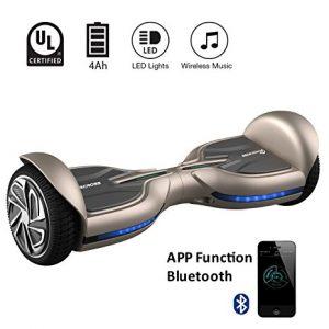 Migliori hoverboard Bluetooth con LED